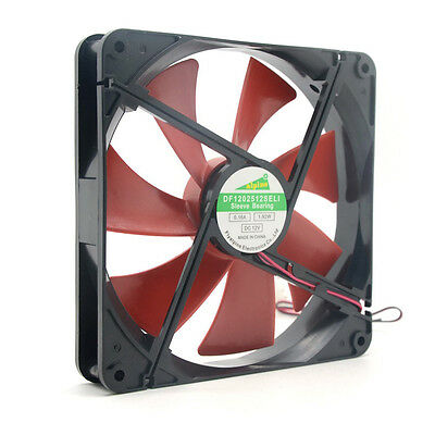 Best silent quiet 140mm pc case cooling fans 14cm DC 12V 4D plug computer