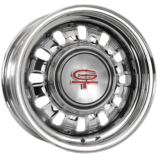 "689SS146 14x6 Ford Styled Steel 1968-69 | 5x4 1/2"" bolt 