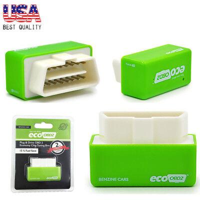 - Eco OBD OBD2 Economy Fuel Saver Tuning Box Chip For Petrol Car Gas Saving Green