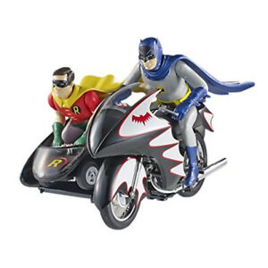 Hot Wheels Elite Batman 1966 1:12 Batcycle in store!