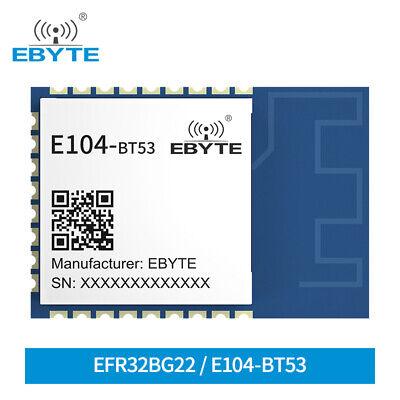 E104-bt53 Smd Ble5.2 Module Ic Efr32bg22 Pcb Smart Home Bluetooth Module