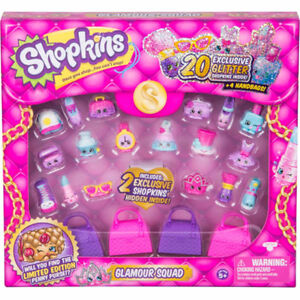 Brand new SHOPKINS Glamour squad packs