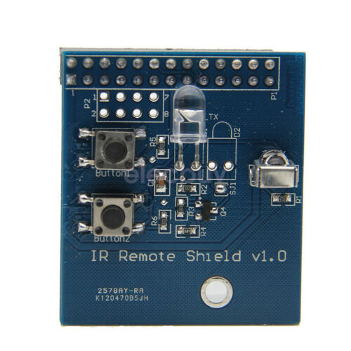 New IR Remote Interface Adapter + Remote Board For Raspberry