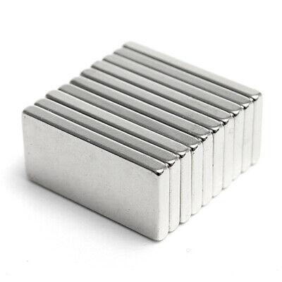 1-50 PCS Very Strong Rectangle Shape NDFEB Neodymium Bar Block Magnetic hot ()