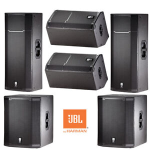 JBL Active Powered Pro PA Speakers - PRX Authorized Dealer