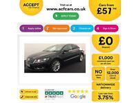 Volkswagen CC 2.0TDI ( 140ps ) BMT 2013MY GT FROM £57 PER WEEK.