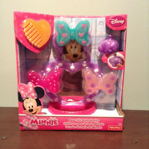 """FISHER PRICE"" DISNEY BOW-RIFIC BATH VANITY.....NEW!"