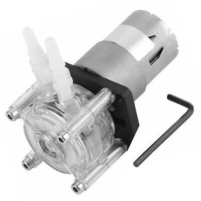 Flowing Peristaltic Pump Tube Dosing Vacuum Aquarium Lab Liquids Dc12v Plastic