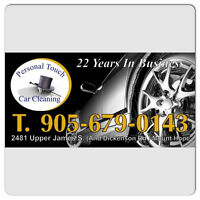EXTERIOR HAND WASH AND INTERIOR CLEAN $35.00!!!