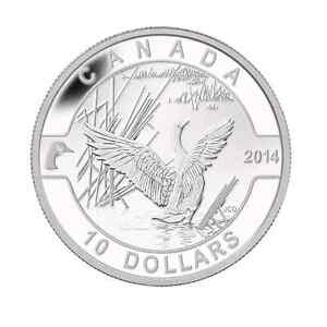 2014 O Canada -Canada Goose Fine Silver Coin Kitchener / Waterloo Kitchener Area image 1