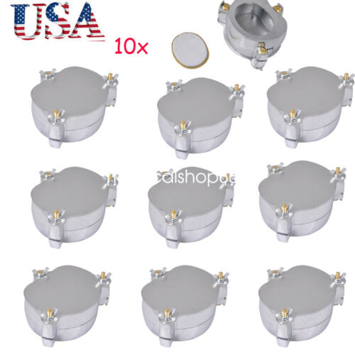 10PCS USA Dental Denture Flask Compressor Parts lab press equipment Aluminium CE