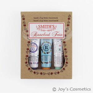 1-ROSEBUD-trio-de-balsamo-para-labios-de-Rosebud-Smith-Set-0-5-OZ-034-RB-trio-034-Cosmeticos-Joy-039