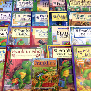 Lot 20 Franklin The Turtle Books Kids Childrens Picture Story