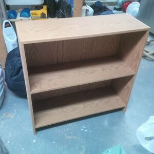 3 Wooden Bookcases - $25.00 for all 3