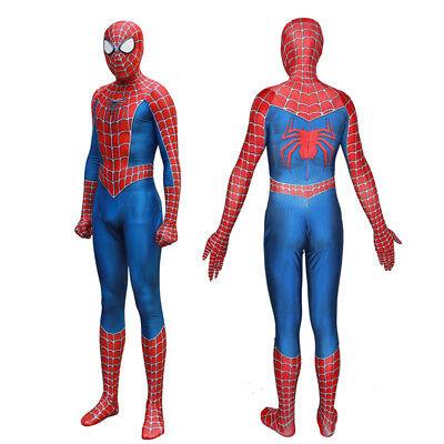 The Amazing Spider-Man Cosplay Jumpsuit Spiderman Zentai Costume Custom Made