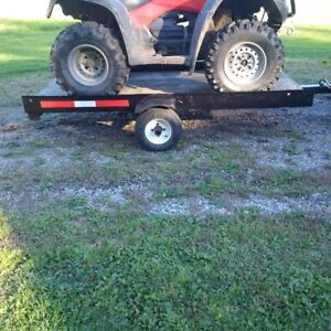 4'X 8' Trailer- Tilting ATV/Snowmobile