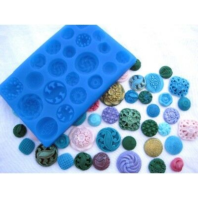 Sugarcraft Molds Polymer Clay Molds Cake Decorating Tools/ button Mold 97655-9