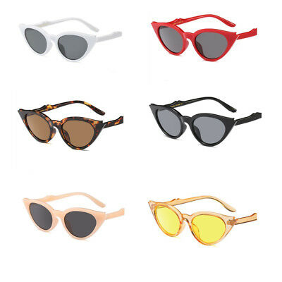 Cat Eye Sunglasses Women Cute Retro Small Triangle Vintage Sun Glasses Female