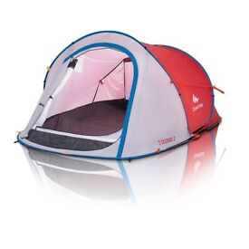 Second hand Quechua pop up tent - 2 man