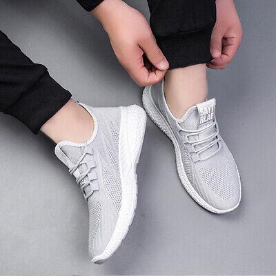 3 Pairs Auntgugu Mens Fashion Sneakers Running Walking Hiking Casual Shoes Gray  Hiking Walking Shoes
