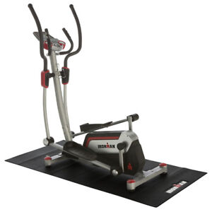 NEW: IRONMAN Exercise Equipment Mat(Floor Protection/Noise Reduc