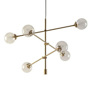 Ink+Ivy Cyrus Chandelier Ceiling Light Gold II150-0011 – New
