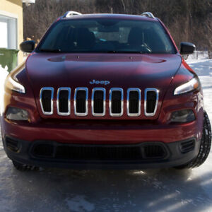 JEEP CHEROKEE 2016, V6, 3,6L, AUTOMATIQUE, 71000KM, 24 000$
