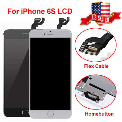OEM For iPhone 6S Complete LCD Display Touch Screen Digitizer Replacement Button Complete Lcd Display Screen