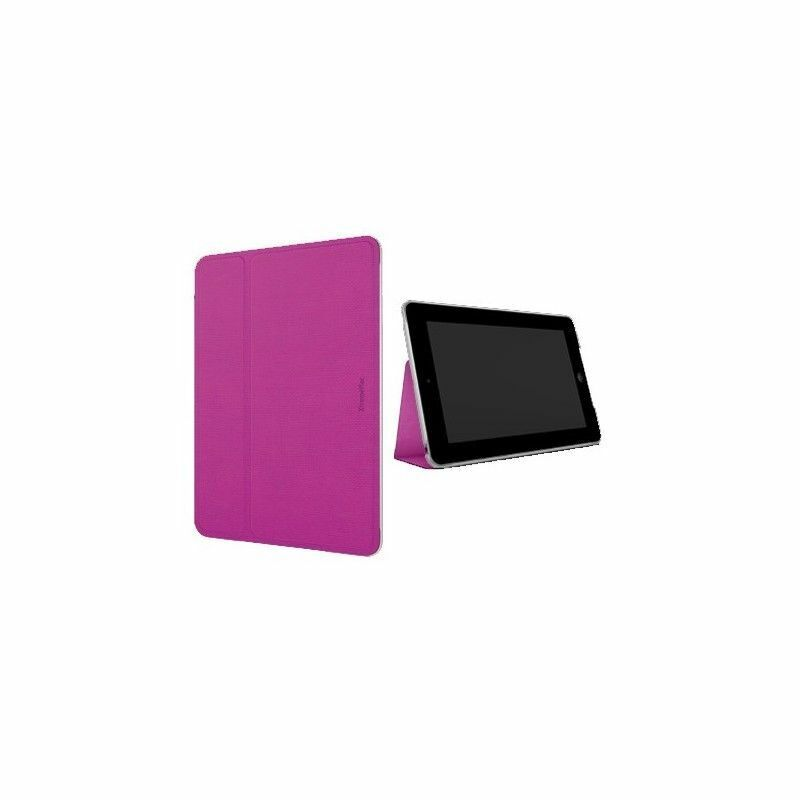 Xtrememac ipad mini 2 2nd 3 3rd gen ultra plat folio etui a rabat rose