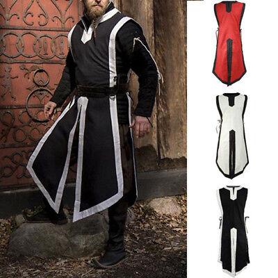 Knights Armor Costume (Armor Venue Medieval Renaissance Men Viking Knight Cosplay Costume Long)