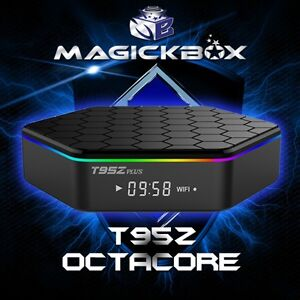 MAGICKBOX T95Z OCTACORE ANDROID TV !! Kodi 17.6 Installed !!