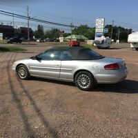 2004 Chrysler Sebring LX Coupe (2 door) Convertible