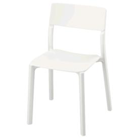 2x Ikea Janinge white chair