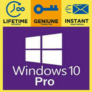 Windows 10 Pro 32/64Bit Lisence KeyActivation LifeTime