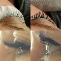 Pose de cil/ Extension eyelashes
