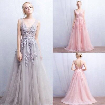 Fairy Long Party Prom Formal Evening Ball Gown Dresses Wedding Celebrity Dress