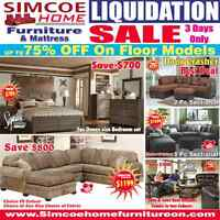 ~*~*~ SImcoe Home Furntire - LIQUIDATION SALE ~*~*~