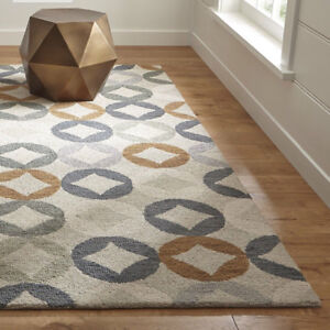Hand tufted wool rugs, Brand New