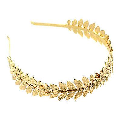 Roman Goddess Leaf Branch Dainty Bridal Hair Crown Head Dress Boho Alice - Goddess Crown