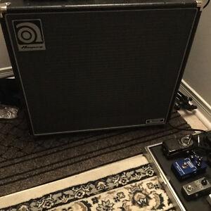 Ampeg bass cabinet