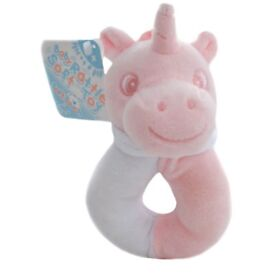 Soft touch Unicorn baby rattle