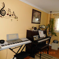 Private Piano and Music Theory Lessons