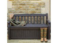 Keter Iceni bench/seat storage