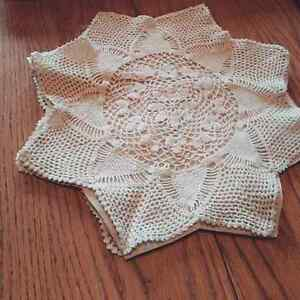 Gorgeous star doily ring pillow