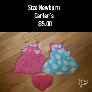Newborn Carter's Dresses