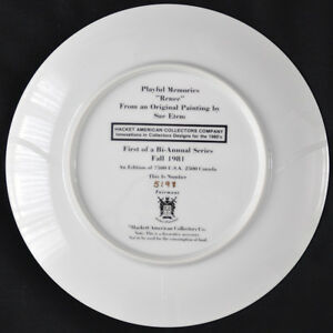 "Plates ""Playful Memories"" Sue Etem Kitchener / Waterloo Kitchener Area image 6"