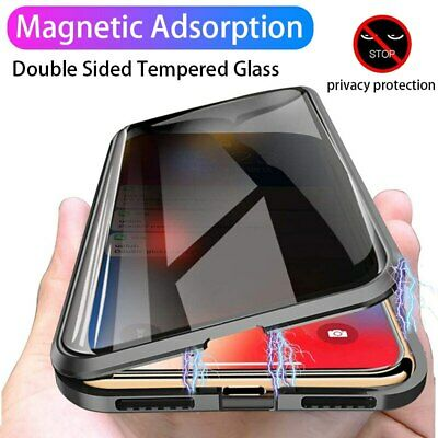 Phone Anti-peep Magnetic Case Double Side For iPhone 11 Pro Max Case NEW