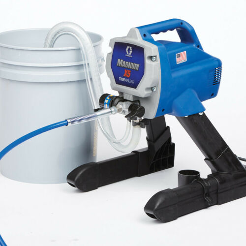 Graco X5 262800 Magnum Electric Airless Paint Sprayer w/ wty and New Hose!