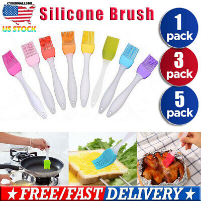 Baking BBQ Basting Brush Bakeware Pastry Bread Oil Cooking Tool Silicone Kitchen
