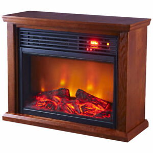 Optimus Fireplace Infrared Heater, New